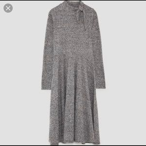 EUC Zara gray knit dress